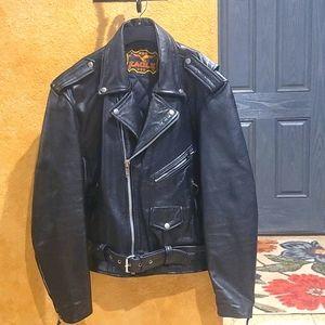 Vintage Mens leather coat